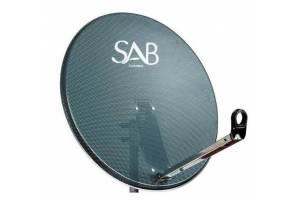 Sab 80Cm Ofset Delikli Çanak Anten Antrasit