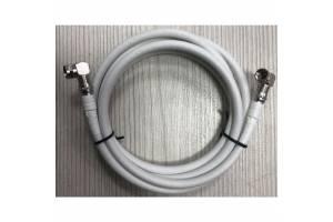 L tipi 90 derece F Konnektörlü Next Uydu Anten Kablosu 1 Metre