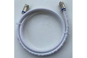 1 Metre Hazır Anten Kablosu Sıkmalı F Konnektör Next Kablo