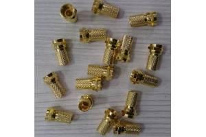 RG6 Gold F Konnektör Geniş