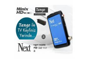 Next Tango Blue HD Uydu Alıcı 2018 Model TKGS