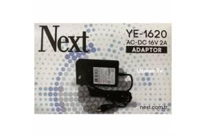 Next YE 1602-1620 16V 2A SANTRAL Adaptörü