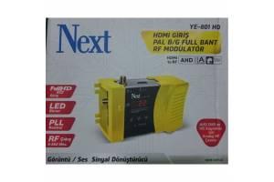 Next YE- 801 HD HDMI Giriş Full Band RF Modülatör