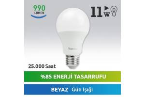 Nextled E27 LED Ampul 11W Beyaz