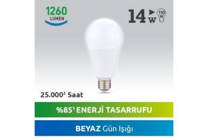 Nextled E27 LED Ampul 14W Beyaz