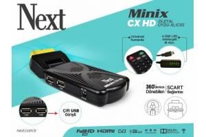 Next Minix CX Full HD Uydu Alıcı TKGS Özellikli