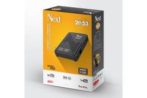 NEXT 2053 HD Uydu Alıcı (IPTV HEVC H.265) + NEXT WİFİ HEDİYE