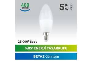 Nextled E14 LED MUM AMPUL 5W BEYAZ
