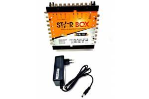 Starbox 10/16 Santral Sonlu Multiswitch+Adaptör